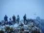 Senderismo con nieve en Jumilla 16 y 17-01-2021
